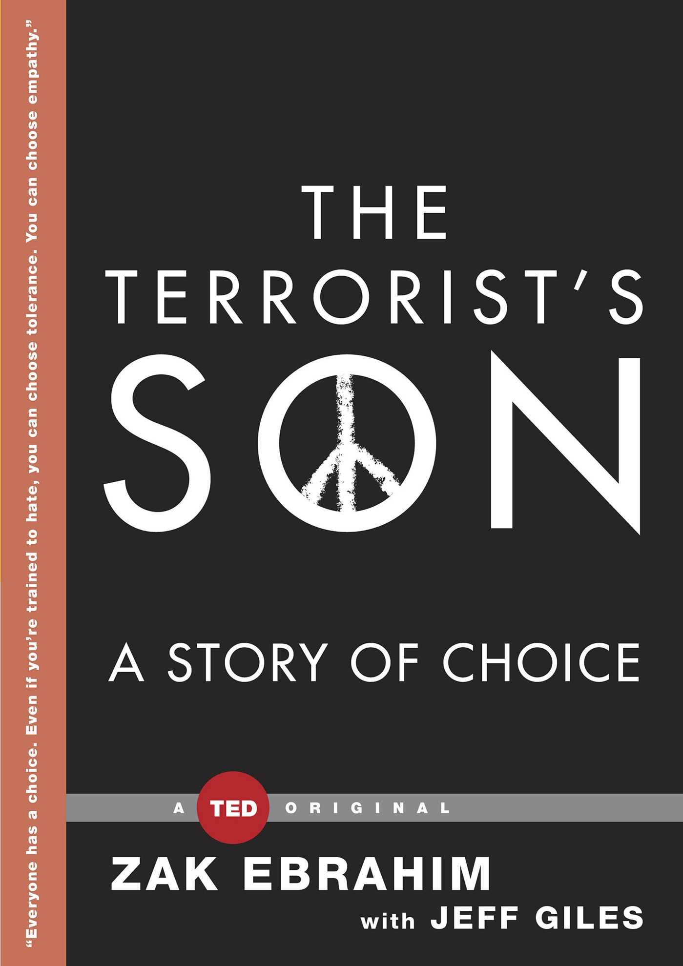 TED Books - The Terrorist's Son: A Story of Choice by Zak Ebrahim